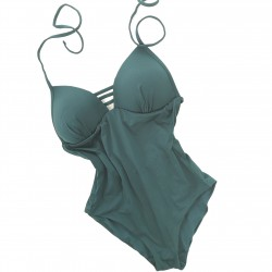 Swimsuit Gisela Smooth Green