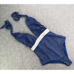 Swimsuit Marilyn Dea Glitter Blue