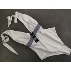 Swimsuit Marilyn Dea Glitter White