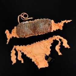 Bandeau Bikini Paillettes Peperino Bikini Bottom