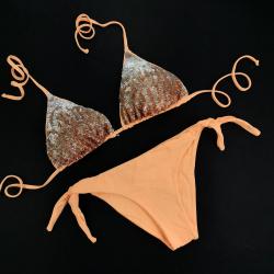 Triangle Cup C D Bikini Paillettes Peperino Bikini Bottom