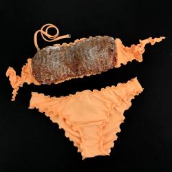 Bandeau Bikini Paillettes Peperino Classic Bottom
