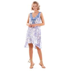 Iconique - Livia Sleeveless Dress Blue