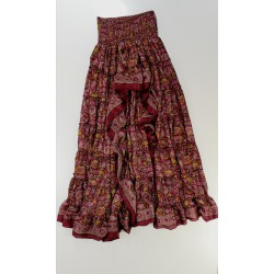 Skirt  FreeLove Ibiza Ruby 100% Silk