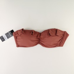 Bandeau Bikini Dea Basic Rust