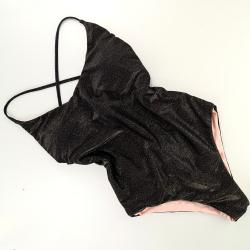 Olympionic Swimsuit Lurex Black