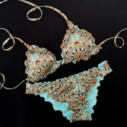 Triangle Bikini Mandala Tiffany Classic Bottom