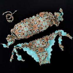 Bandeau Bikini Mandala Tiffany Bikini Bottom