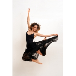 Skirt  FreeLove Ibiza Black Lace 100% Cotton