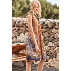 Iconique - Micol Sleeveless Dress - IC21-095