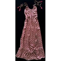 Long Dress Moon FreeLove Ibiza Rose Gold 100% Silk