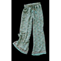 Pantaloni FreeLove Ibiza Tiffany 100% Seta