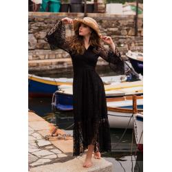 Kimono FreeLove Ibiza Pizzo Nero