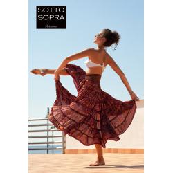 Skirt  FreeLove Ibiza Ruby 100% Silk