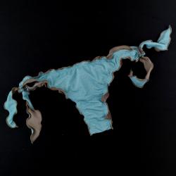 Brazilian Bottom Lurex Turquoise